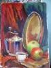 Натюрморт з яблучками