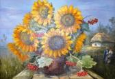 Перша ретроспективна виставка  живопису  Юрія Пацана  « Село у нашій Україні – неначе писанка, село…»