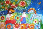 Виставки дитячого малюнку « Мій перший  « Кобзар» на Фестивалі « Музейний простір – творчий простір -2014»
