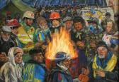 Виставка живопису Марини Соченко  « Борітеcя – поборете!»